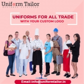Business Uniforms Supplier in India | Logo Printing